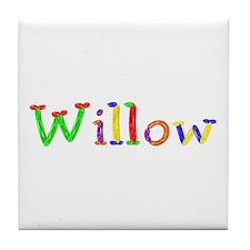 Willow Balloons Tile Coaster