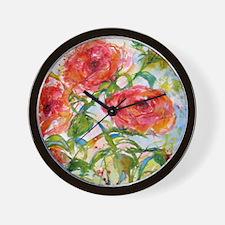 Flower #11 Wall Clock