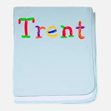 Trent Balloons baby blanket