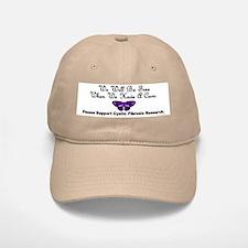 Butterfly Cystic Fibrosis Baseball Baseball Cap