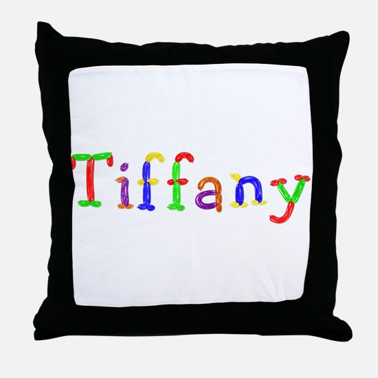 Tiffany Balloons Throw Pillow