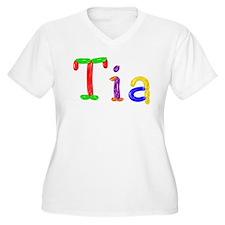 Tia Balloons Plus Size T-Shirt