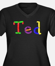 Ted Balloons Plus Size T-Shirt