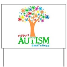 Support Autism Yard Sign