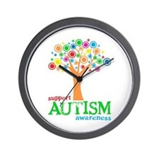 Support Autism Wall Clock