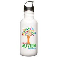 Support Autism Water Bottle