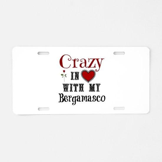 Bergamasco Aluminum License Plate