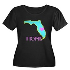 Florida State Shape Plus Size T-Shirt