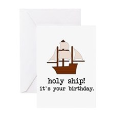 Holy Ship! Greeting Cards