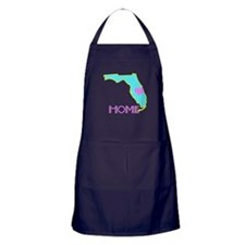 Florida State Shape Apron (dark)