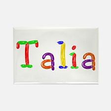 Talia Balloons Rectangle Magnet