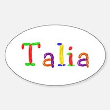 Talia Balloons Oval Decal