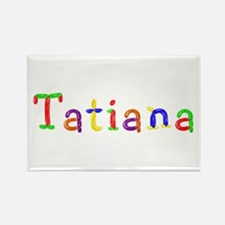 Tatiana Balloons Rectangle Magnet