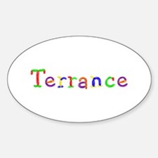 Terrance Balloons Oval Decal