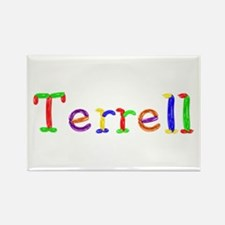 Terrell Balloons Rectangle Magnet