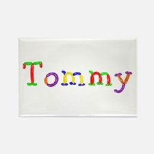 Tommy Balloons Rectangle Magnet