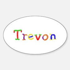 Trevon Balloons Oval Decal