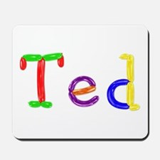 Ted Balloons Mousepad