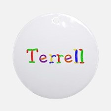 Terrell Balloons Round Ornament