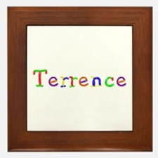Terrence Balloons Framed Tile