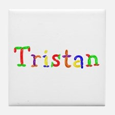 Tristan Balloons Tile Coaster