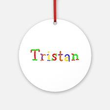 Tristan Balloons Round Ornament