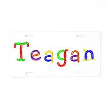 Teagan Balloons Aluminum License Plate