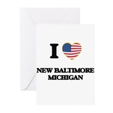 I love New Baltimore Michigan Greeting Cards