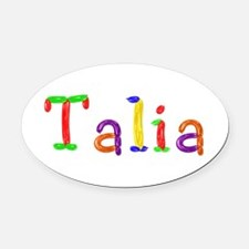 Talia Balloons Oval Car Magnet