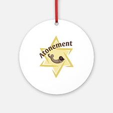 Atonement Star Ornament (Round)