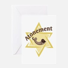 Atonement Star Greeting Cards
