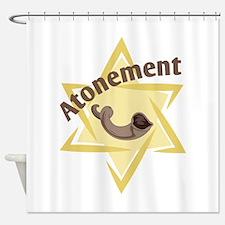 Atonement Star Shower Curtain