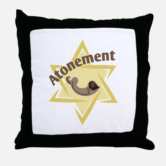 Atonement Star Throw Pillow