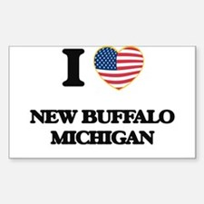 I love New Buffalo Michigan Decal