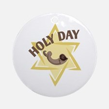 Holy Day Ornament (Round)