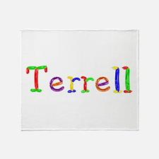 Terrell Balloons Throw Blanket