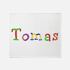 Tomas Balloons Throw Blanket