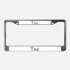 Ted Balloons License Plate Frame
