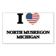 I love North Muskegon Michigan Decal