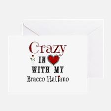 Bracco Italiano Greeting Cards