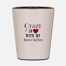 Bracco Italiano Shot Glass