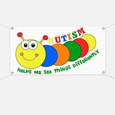 Autism Caterpillar Banner