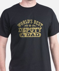World's Best Deputy and Dad T-Shirt
