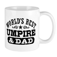 World's Best Umpire and Dad, Small Mug