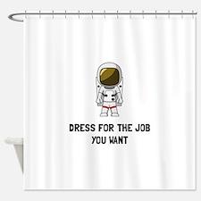 Astronaut Dress Shower Curtain
