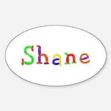 Shane Balloons Oval Decal