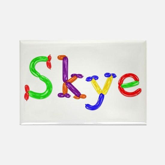 Skye Balloons Rectangle Magnet