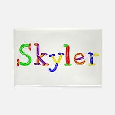 Skyler Balloons Rectangle Magnet