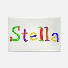 Stella Balloons Rectangle Magnet
