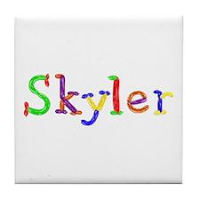 Skyler Balloons Tile Coaster